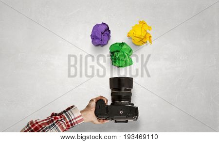 When making photo is making money