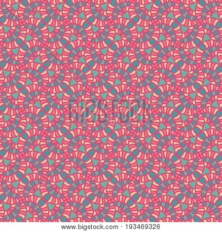 Colorful Spiral Seamless Patterns