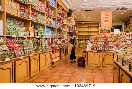 The Store Of Famous Annecy Souvenir -  Gift Boxes Of Cookies