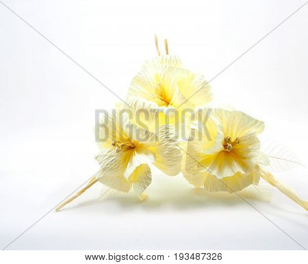 Thai Funeral flower artificial used for cremation