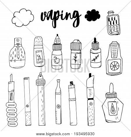 Doodle smoke electronic cigarette , taste the smoke, gas spray cans for smoke