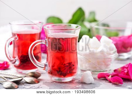 Tea With Rose