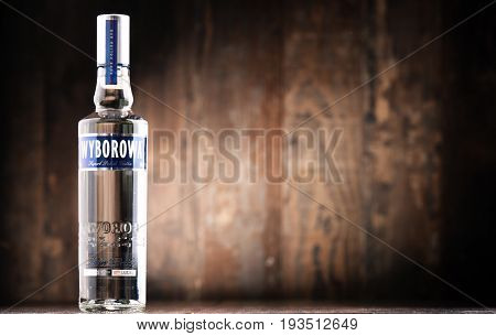 Bottle Of Wyborowa Vodka