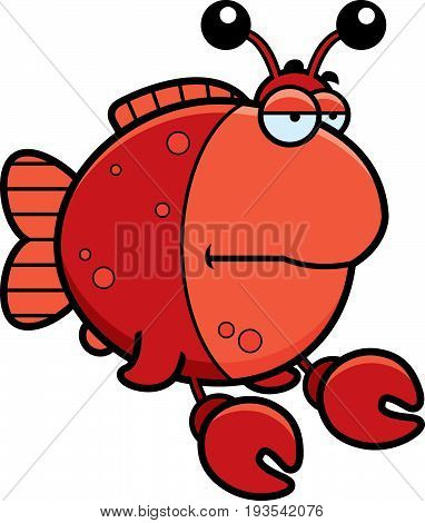 Bored Cartoon Imitation Crab