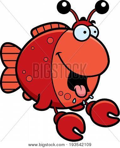 Hungry Cartoon Imitation Crab