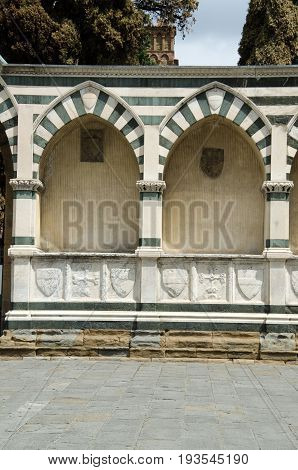 Basilica of Santa Maria Novella in Florence