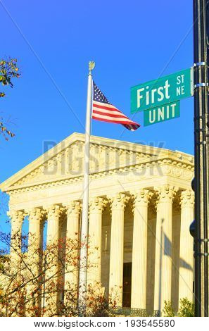 United States Supreme Court Building - Washington D.C.
