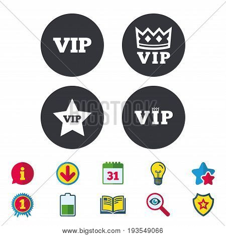 Vip Icons Very Important Person Vector Photo Bigstock