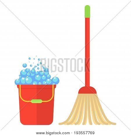 Clean Bucket Mop Foam