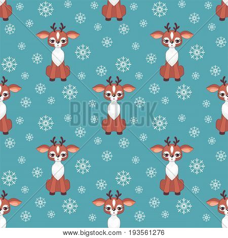 Cute Fawn Pattern.eps