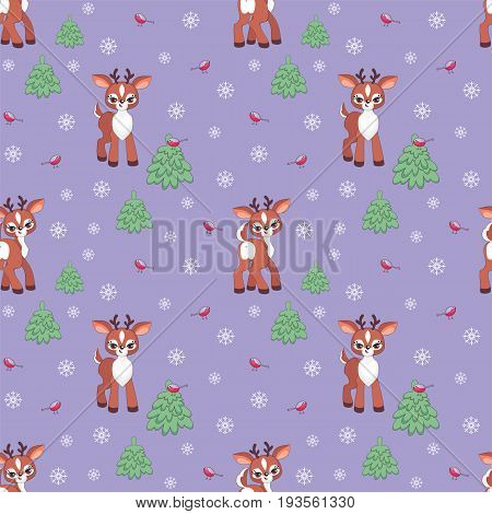 Funny Fawn Pattern.eps