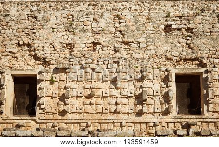 Ruins Of Codz-poop (palace Of Masks), Kabah, Mexico