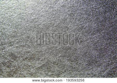 background gray and silver from wrinkled material