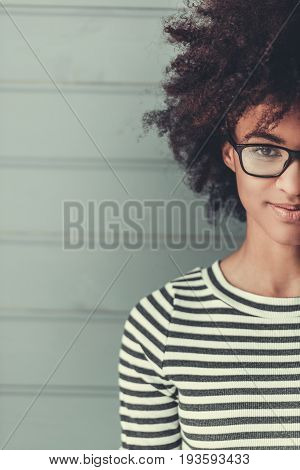 Stylish Afro American Girl