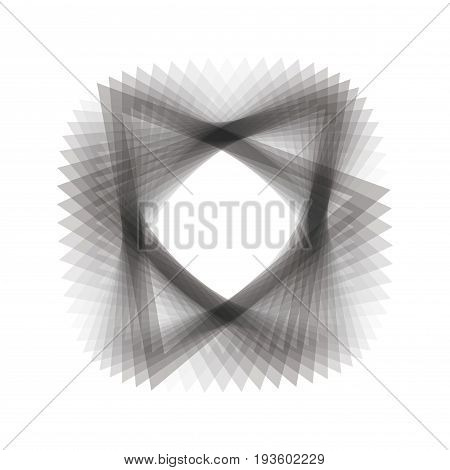 Abstract grey illustration with shape for background
