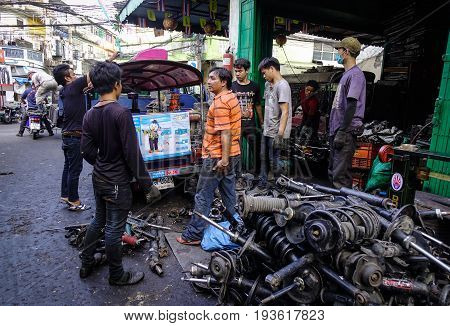 Old Machine Tool Factory In Bangkok, Thailand