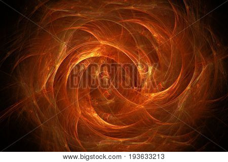 fiery glowing pattern, abstract art for background