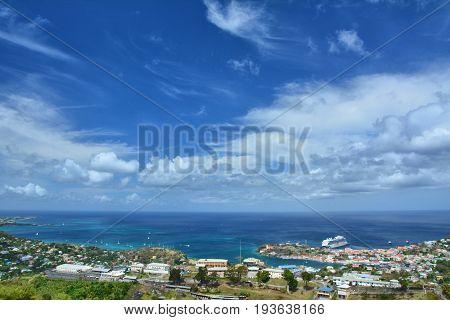 Scenic Landscape Of Grenada