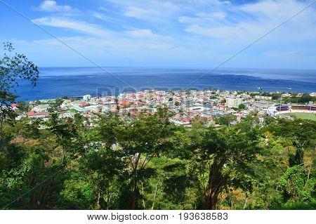 Rouseau, Dominica Island