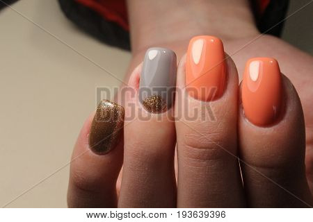 Youth Summer Manicure Design