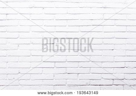 White bricks texture of a exterior wall.