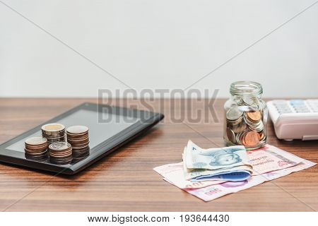 Accountant And Investor Concept