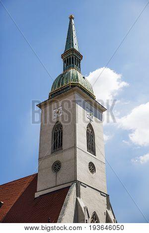 St. Martin Cathedral In Bratislava, Slovakia
