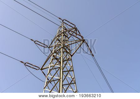 Electric power plant for energy in industry
