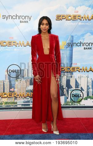 LOS ANGELES - JUN 28:  Laura Harrier at the