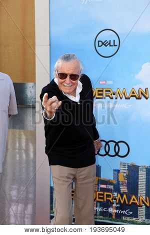 LOS ANGELES - JUN 28:  Stan Lee  at the