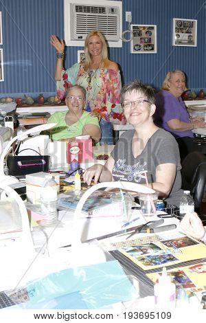 LOS ANGELES - JUL 1:  Katherine Kelly Lang, Jody McNelis, Volunteer at the
