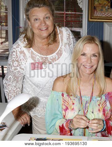 LOS ANGELES - JUL 1:  Laurie Kagan, Katherine Kelly Lang at the