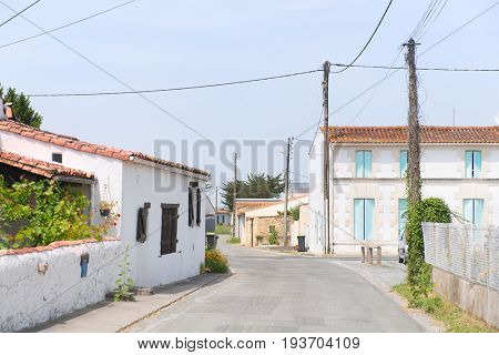 Little French village in the Charente-Maritime