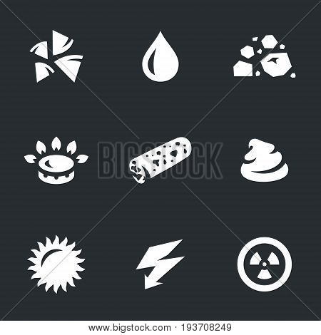 Firewood, water, coal, gas, pallet, dung, sun, electricity, turbine.