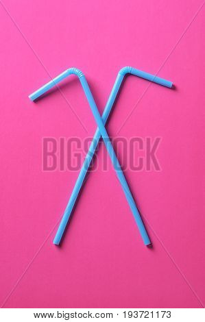 Drinking Straw For Summer Beach Cocktail Or Juice