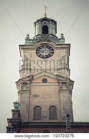 Storkyrkan, Church In Gamla Stan, Stockholm