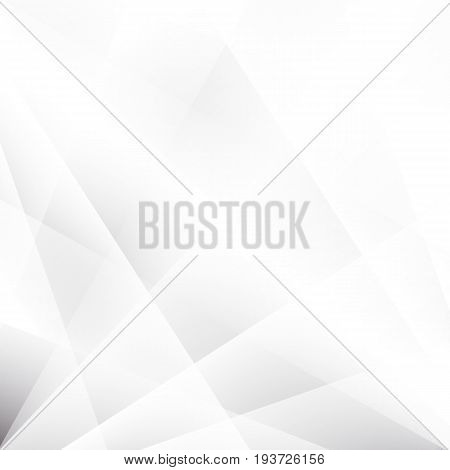 bstract texture geometric White and gray color technology modern futuristic background, vector illustration