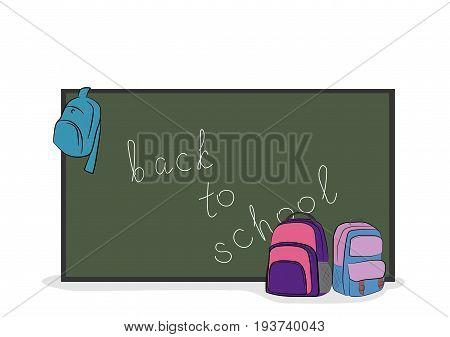 On the school board written
