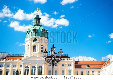 Charlottenburg Palace And Garden In Berlin