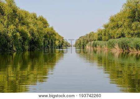 River Begej, Vojvodina, Serbia