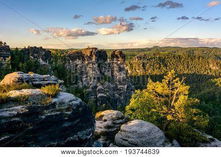 Saxon Switzerland - Eastern Ore Mountains, Germany