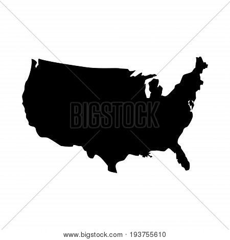Usa Map Icon