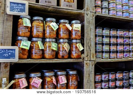 Fruit Compote Spread Jars And Vegetable Spreads