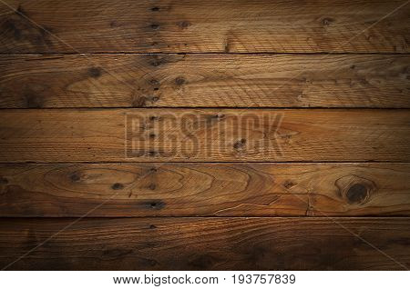 Pattern of old wooden wall texture background