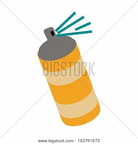 aerosol can icon image vector illustration design