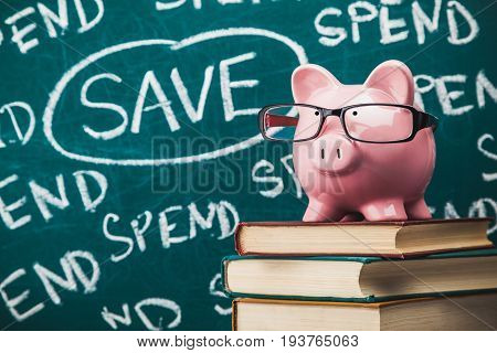 Money management piggy bank save savings earnings penny bank planning