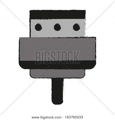digital device charger icon image vector illustration design