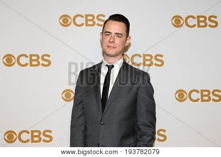 Actor Colin Hanks attends the 2015 CBS Upfront at The Tent at Lincoln Center on May 13, 2015 in New York City.