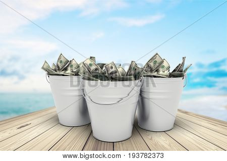 Canadian dollars canadian currency currency bucket wealth dollar sign paper currency