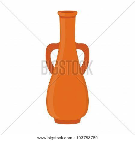 Ancient pottery, vase, jar, amphora. Made in cartoon flat style. Vector illustration
